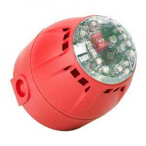 Industrijska opozorilna sirena s svetlobno signalizacijo CHIASSO 100 RAZOR