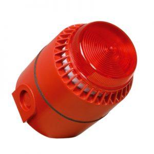 Industrijska opozorilna sirena s svetlobno signalizacijo FLASHNI